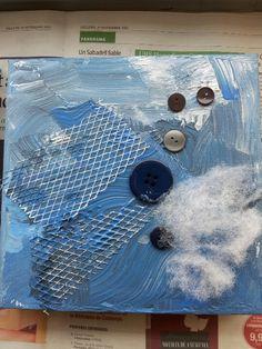#infantil #p3 Hivern amb textures variades