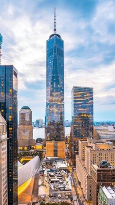 Freedom Tower Downtown Manhattan
