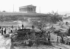 Mystery of infant skeletons in Athenian well solved. Analysis of the remains, has shown all but one of the babies appear to have died of natural causes somewhere between and at the end of the Hellenistic period in Greece. Hellenistic Period, Minoan, Athens Greece, Ancient Greece, Historical Photos, Old Photos, Paris Skyline, 1, Fine Art