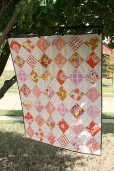 'Weekend baby Girl Quilt' by #QuiltsByEmily $95