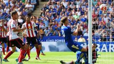 Claudio Ranieri's tenure as Leicester City manager began with a magnificent opening-day victory against Sunderland.  The hosts scored three goals in the first 30 minutes, with a deft Jamie Vardy header starting the scoring.  Riyad Mahrez then headed home before scoring from the spot after a Lee Cattermole foul on the Algerian.  Jermain Defoe gave the Black Cats hope but, after Marc Albrighton had struck for the Foxes, Steven Fletcher's late header was mere consolation.