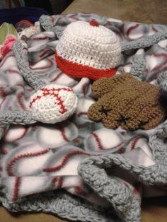 baseball BABY CROCHET BLANKETS - Google Search