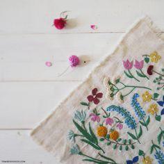 embroidery: pleasure garden by yumiko higuchi
