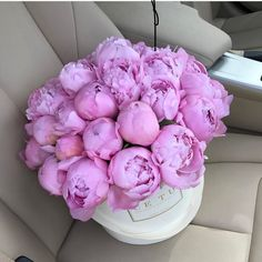 47 New Ideas For Birthday Flowers Bouquet Beautiful Roses Products My Flower, Pretty Flowers, Flower Boxes, Fresh Flowers, Flower Aesthetic, Pink Peonies, Peony, Belleza Natural, Beautiful Roses