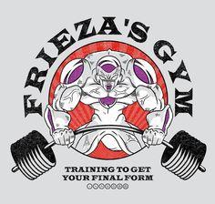 Frieza's Gym T-Shirt $12.99 Dragon Ball tee at Pop Up Tee!