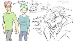 Awwww, I died one hundred of times TwT Septiplier Comic, Septiplier Fanart, Danti, Pewdiepie, Markiplier Fnaf, Cryaotic, Darkiplier, Jack And Mark, Youtube Gamer