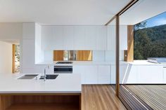 Architect-designed modern house for sale in St Albans, NSW. St Albans House by Rory Brooks Architects