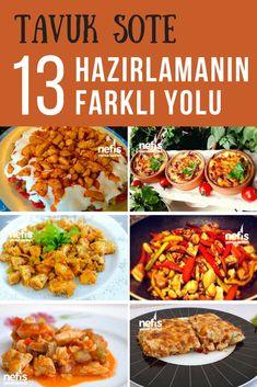 Tavuk Sote 13 Değişik Tarif – Nefis Yemek Tarifleri One of the most delicious forms of chicken is sauteed chicken. Turkish Recipes, Italian Recipes, Ethnic Recipes, Yummy Recipes, Yummy Food, Chicken Recipes List, Turkish Kitchen, Rich In Protein, Fresh Fruits And Vegetables