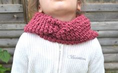 Antique Rose Kids Cowl Scarf Infinity Cowl Scarf by FarahsAttic, $12.00