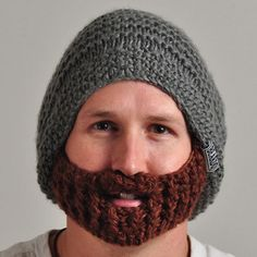 Bearded Beanie Fun idea