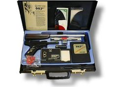 I owned one of these incredible James Bond 007 Attache Cases as a kid. A fave toy, it shot bullets out the side (I think a blade as well). Now worth $500 - $1000.