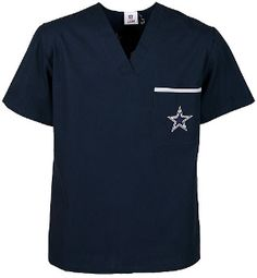 Dallas Cowboys Men's NFL Scrub Top