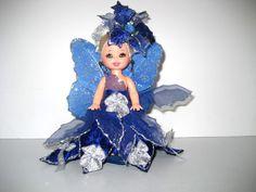 Kelly Doll Creation OOAK Blue Amp Silver Beauty | eBay