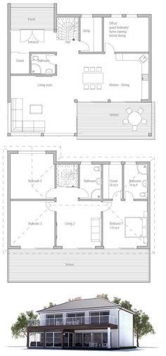 casas, arquitectura de la casa y otros Pines populares en Pinterest