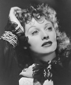Lucille Ball by George Hurrell.
