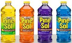 love the smell of a house cleaned with Pinesol