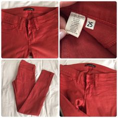 Flying Monkey Rust Color Jeans Rust color. Only worn once. Size 25. Great color for fall. Flying Monkey Jeans Skinny