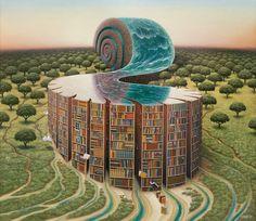 Yerkaland – Welcome to official site of Jacek Yerka, painter of fantasy worlds