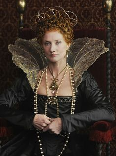Joely Richardson as the young Queen Elizabeth I in Anonymous (2011)