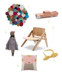 {1. Bubble Rug 2. Ambulance 3. Komplet Lounge Chair 4. Jane Rag Doll 5. Headband Bow 6. Pepe Pillow Pink} Oh it is such a treat to visit Buisjes