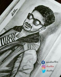 Pencil sketch on Arjunkapoor  Art by :Sharbhalakshmi Dakshinamurthy  Follow me Insta,Twitter: @sharbha  Fb:@iamsharbha