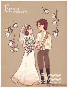 Os 4 tipos de Amor ilustrados - eNoivado