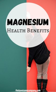 Magnesium is an essential mineral for good health and wellness. In this article you'll learn about the health benefits of magnesium, as well as some magnesium rich foods and magnesium deficiency symptoms. Magnesium Foods, Magnesium Benefits, Magnesium Deficiency, Health Benefits, Bone Health, Women's Health, Brain Nutrition, Stress And Depression, Fitness Workout For Women