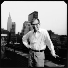 Woody Allen by Timothy White