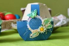 DIY Easy Cardboard Easter Basket