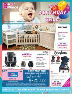 Baby Bounce Catalogue 9 September - 16 October 2016 - http://olcatalogue.com/baby-bounce/baby-bounce-catalogue-9-september-16-october-2016.html