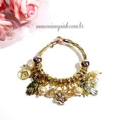 Pulseira Pandora Inspired Courinho  29,90  Compras pelo site  www.mimopink.com.br