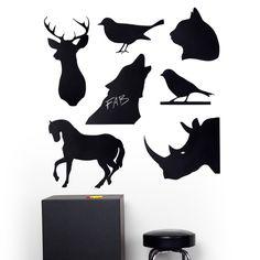 Animal Magnet Blackboards. YES!!!