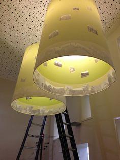 Ontworpen lampen in de vergaderzaal tbv Verbouwing kantoor De Nijs Castricum