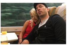 Jonathan Silver Scott w/gf Jacinta Kuznetsov on Train ride through the Rockies in Canada. August 2016