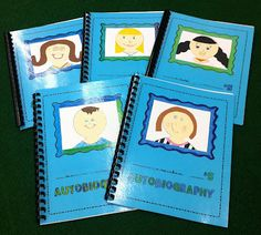 2nd grade - autobiographies