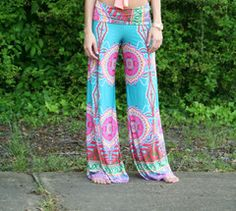 This is one of my favorites on The Paisley Rooster: Turquoise Paisley Yoga Pants