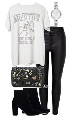 """Untitled #2479"" by theeuropeancloset on Polyvore featuring Brandy Melville, Chanel, Yves Saint Laurent and Kate Spade"