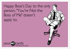 Happy Boss Day to our fearless leaders - Mark, Ron, Melanie, Linda, and Norm! Boss Day Memes, Boss Day Quotes, Boss Humor, Bosses Day Cards, Bosses Day Gifts, Happy Boss's Day Quotes, Chef Humor, Birthday Card For Boss, Principals Day