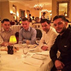 Fergal Devitt with his equally cute brothers #family