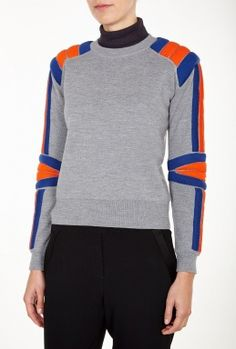 Beautiful Grey Grady Sweater by Marc by Marc Jacobs