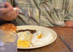 Breakfast at Dwyer's, Lafayette, Louisiana