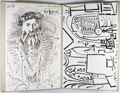 Picasso's sktechbook