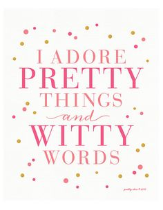 I Adore Art Print Inspirational Wall Art by prettychicsf