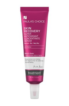 Skin Recovery Super Antioxidant Concentrate Serumr für normale bis sehr trockene Haut, Rosazea 34€