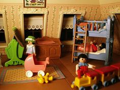Show & Tell: Our Playmobil Victorian dollhouse, a Christmas tradition. Victorian Toys, Victorian Dollhouse, Creepy, Barbie, Childhood Toys, Childhood Memories, Maker, Child Doll, Soft Sculpture