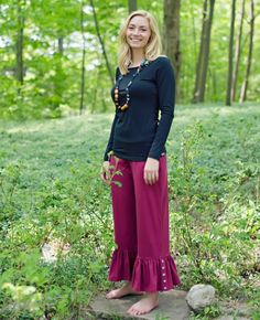 Adult Matilda Jane Clothing MIDNIGHT Tee $34 VINYARD Big Ruffles $56 (Cranberry) Character Counts Fall 2012  MJC Mama