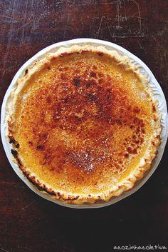 A Cozinha Coletiva: Torta Brûlée de Maracujá