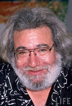 Jerry Garcia  The lead singer of the Grateful Dead, Garcia was an icon to the counterculture movement of the 1970′s. They toured into the 1990′s, until Garcia succumbed to a heart attack in 1995. Date: 1998. Photographer: Unknown.