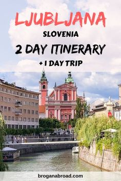Spending 2 days in Ljubljana? Here is the best Ljubljana itinerary. Top things to do in Ljubljana, plus a day trip to Postojna Caves and Predjama Castle. Europe Destinations, Europe Travel Guide, Travel Guides, Europe Budget, Travel Advice, Cool Places To Visit, Places To Travel, 1 Day Trip, Slovenia Travel