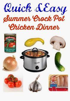 An Easy Summer Crock Pot Recipe
